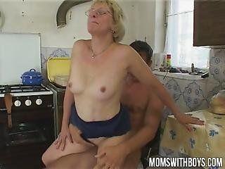 Boys, Cream, Creampie, Cumshot, European, Facial, Fucking, Granny, Mom, Mother, Old, Sandwich, Sucking, Wife, Young