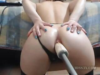 Huge Dildo Tiny Ass