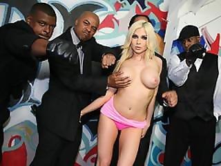 Christie Stevens Sucks Black Cocks Before Facial Cumshot
