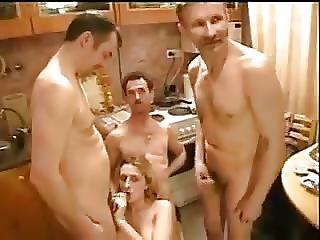 éjaculation, Père, Fille, Sexe En Groupe, Petits Seins, Ados, Jeune