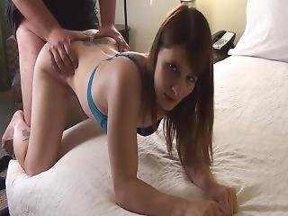Stepdaughter Anally Fucks And Sucks Stepdad And Gets Creampie Reward
