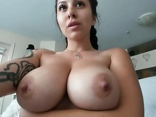 Please Cum On My Dd Huge Tits