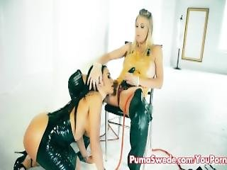 Euro Babe Puma Swede Is Ready To Give Some Anal Training
