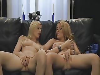 Mature Friends Couch Fun
