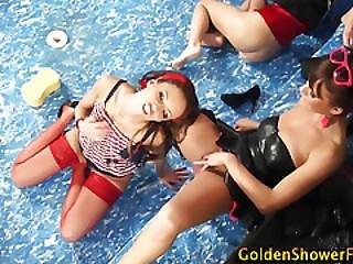 Goldenshower Bitches Lick