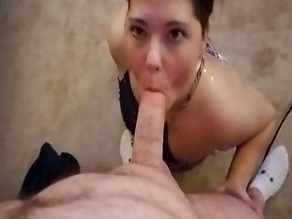 Amateur Cumslut Sucks Cock For A Hot Load Of Cum