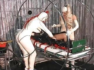 bondage, docka, fetish, gummi, leksaker, uniform