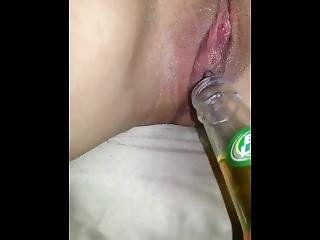 Best Ever Milf Insertion Bottle While Ovulating