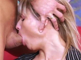Elegant Rich Bitch Came Home From Work And Ride Husbands Big Cock