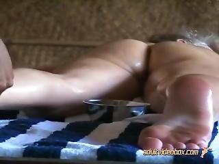 Euro Tourist Barbara Nude Oil Massage In India
