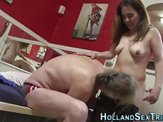 Whore In Stockings Fucked For Cash