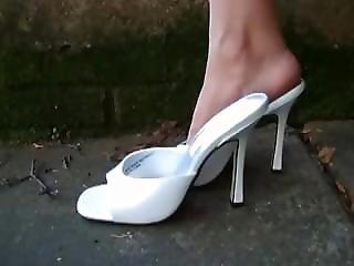 High Heels Feet Tease Pov