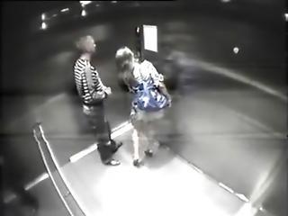 Amateur Couple Fuck In Elevator - Pornrough.com