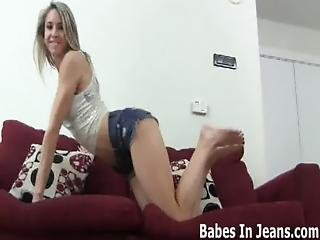My Tight Little Jean Shorts Will Get You Rock Hard