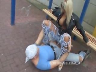 Public Fuck Amateur Couple At Bus Station