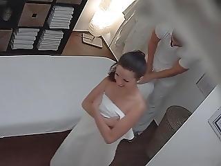 brunette, tchèque, massage, sexe
