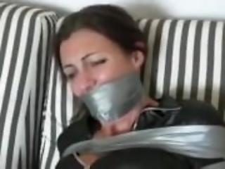 bondage, casa, casalinga, moglie
