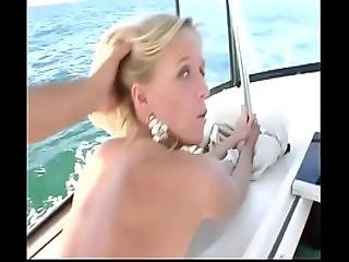 She Was Invited On Board Only For A Fuck