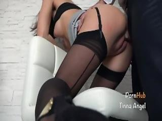 Secretary Fucked By Her Boss Squirt Creampie