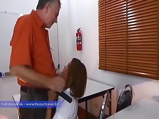 Old Man Give His Secretary A Good Romance