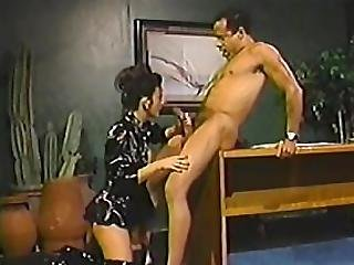 Wild Kinky Baily Gets Fucked At Office Table
