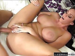 Pornstar Alison Tyler Tit Fucks Guy Cum On Ass