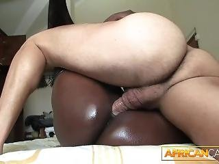 Real African Booty Anal Fuck