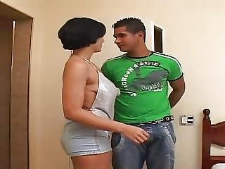 Shorthair Babe Love Big Dick
