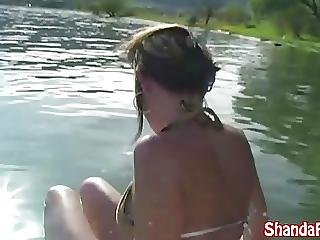 Kinky Milf Shanda Fay Has Anal Sex Outside On Her Boat