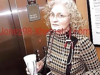 Granny Doctor Upskirt