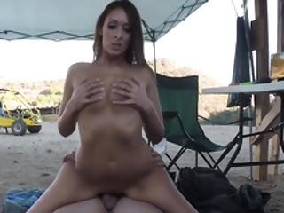 Nasty Girl Filled With Big Cock