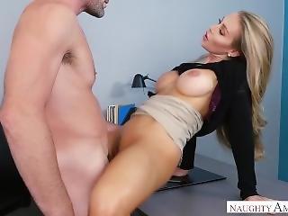 Nicole Aniston Fucked In Naughty Office