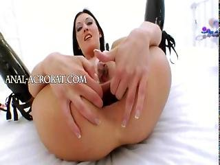 Unique Brutal Vegetable In Her Ass