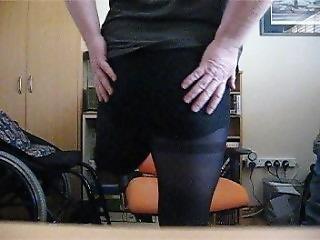 One Leg Nylon