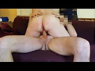 Fat Ass Mature Takes A Thick Cock And Creampie