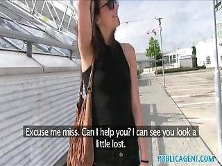 Publicagent Fit Wannabe Model Cheats On Boyfriend With Stranger In Public