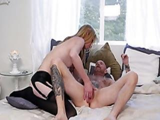 Transgirl Mandy Mitchell Licks And Fingers Transman Buck Angel Pussy