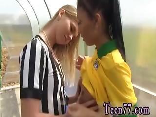 Brasilianisch Lesbisch Toe Lutschen