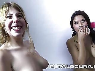 Puta Locura Sweet Teens Try Bukkake