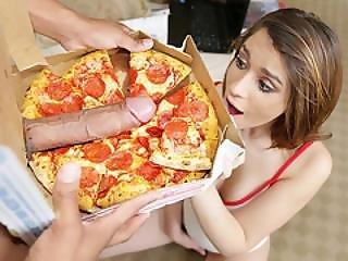 Joseline Kelly Tries Bbc Pizza