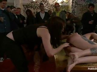 Brutally Disgraced And Fucked In A Pub