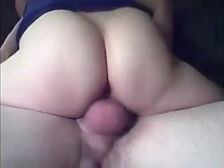 Young Guy Fucks Aunt Stretching Her Cunt