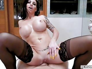 Melissa Lynn Bend Over Her Ass And Fuck Doggystyle From Behind