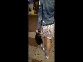 No Panties In The Subway