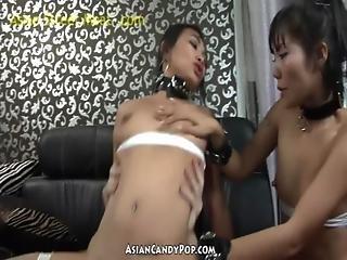 Thai Threesome Riza And Apple