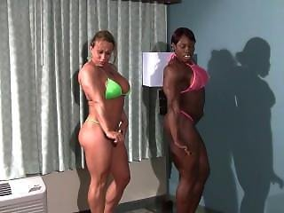Female Muscle Armwrestling