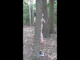 Little Lucy Dances Naked In The Woods
