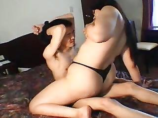 Smother Queen Uses Mans Face Her Fun