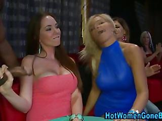 Cfnm Sluts Suck Strippers