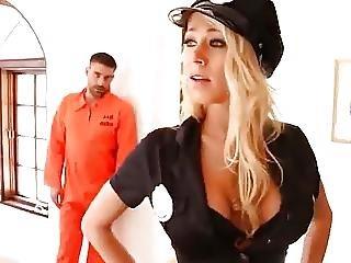Busty Cop Katie In Her Job